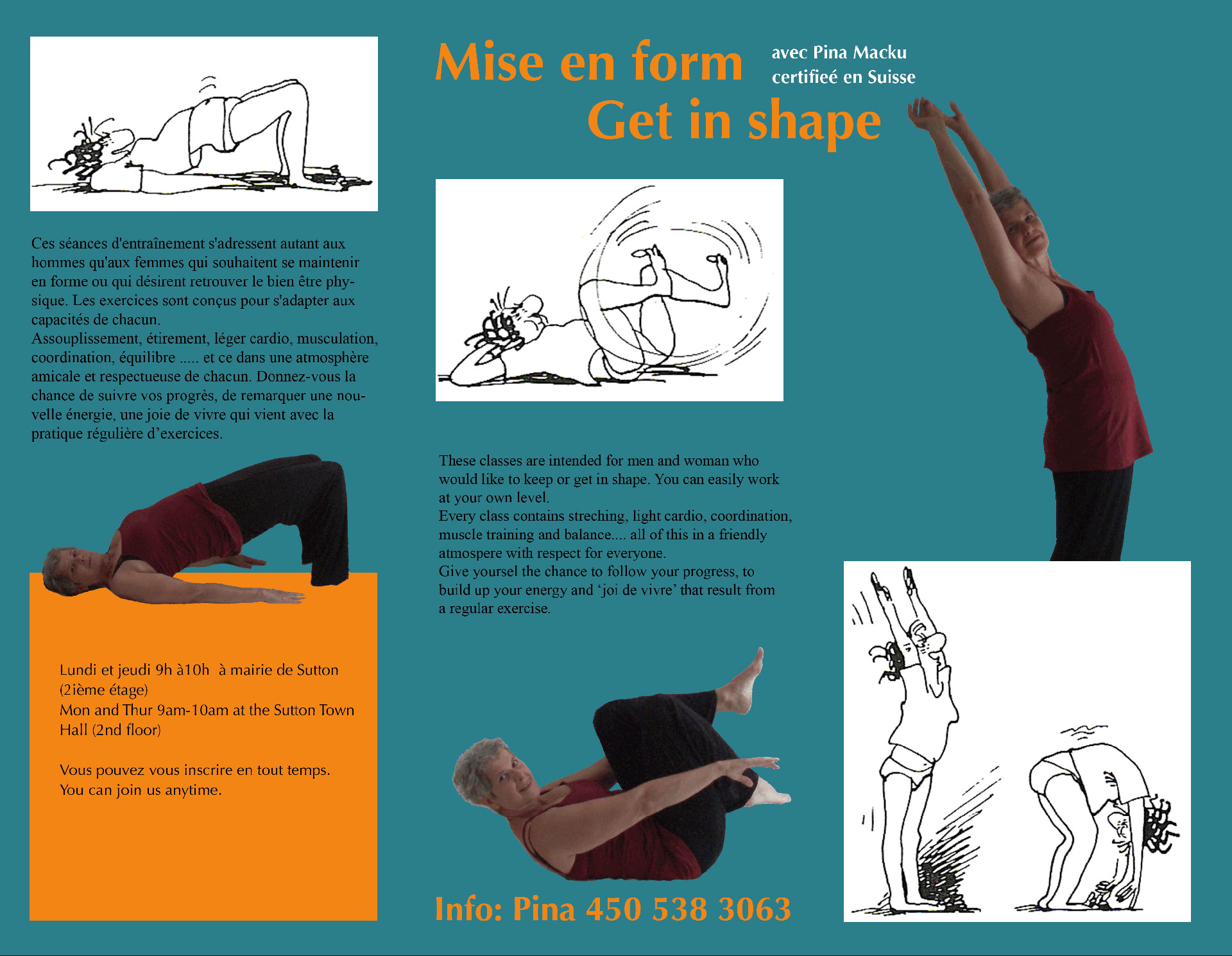 Mise en forme - Get in shape with Pina